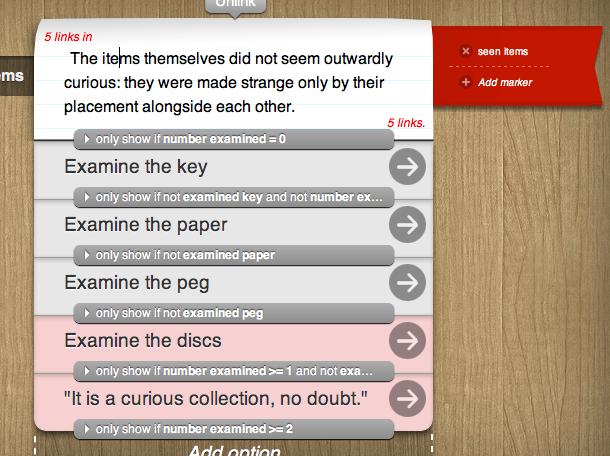 inkle blog - Learning logic with Sherlock Holmes
