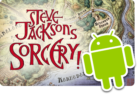 Sorcery! coming to Android