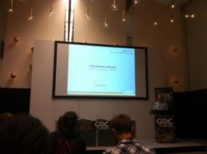 Our GDC talk