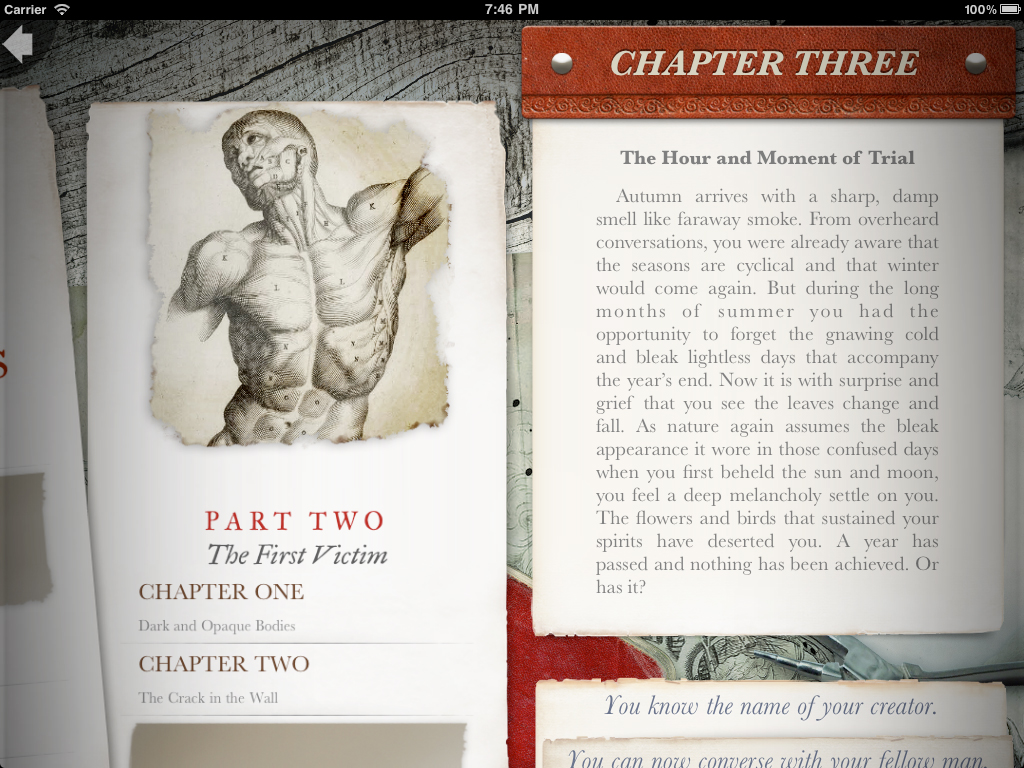 Frankenstein screenshot